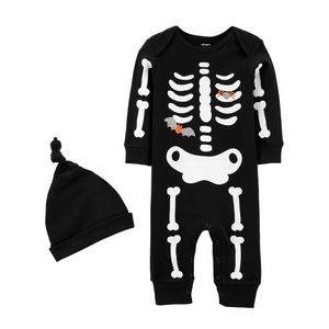 NWT. Carter's Skeleton Onesie